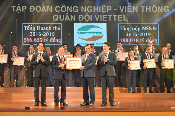 Viettel nằm trong top 30 doanh nghiệp nộp thuế lớn nhất VN - Ảnh 1.