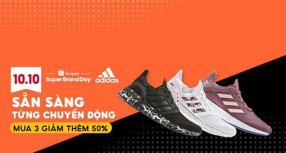 Ngày Siêu Thương Hiệu đầu tiên tại Đông Nam Á của adidas trên Shopee - Ảnh 1.