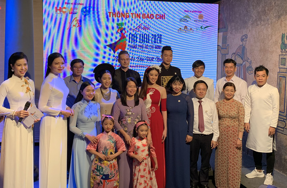 Hoa hậu Nguyễn Trần Khánh Vân làm đại sứ hình ảnh Lễ hội áo dài TP.HCM - Ảnh 1.