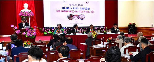 Hà Nội - Huế - Sài Gòn kết nối bền chặt bằng giá trị văn hiến - Ảnh 2.