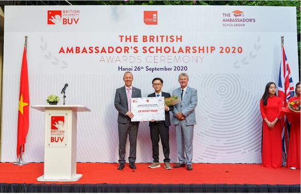 Học bổng Đại sứ Vương quốc Anh năm đầu tiên đã tìm được chủ nhân - Ảnh 3.