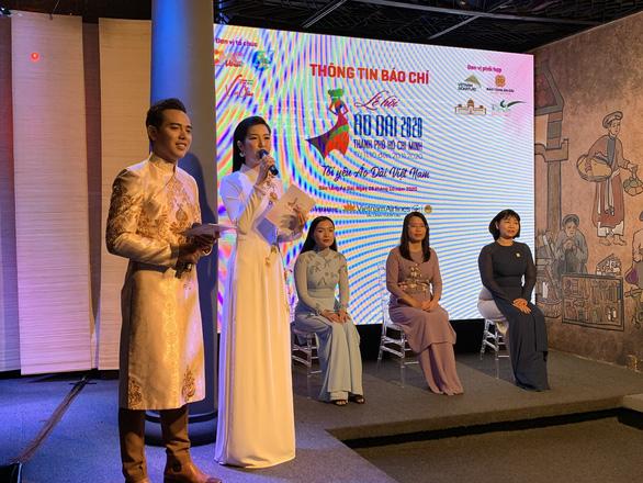 Hoa hậu Nguyễn Trần Khánh Vân làm đại sứ hình ảnh Lễ hội áo dài TP.HCM - Ảnh 3.