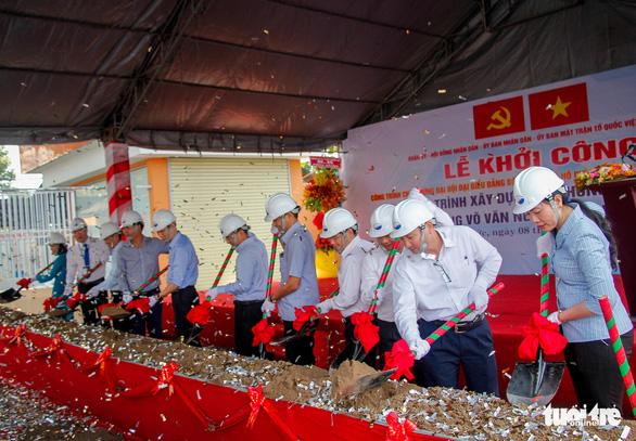 TP.HCM: Khởi công dự án xóa điểm ngập đường Võ Văn Ngân - Ảnh 1.