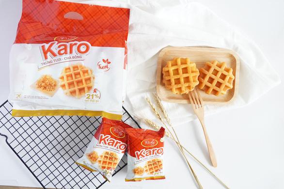 Bánh Karo trứng tươi chà bông - Món ăn nhẹ dinh dưỡng cho cả gia đình - Ảnh 4.