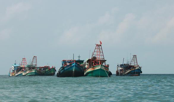 Xử phạt tiền tỉ hàng chục tàu cá vi phạm khi đánh bắt trên biển - Ảnh 1.