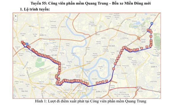 Từ ngày 10-10, các tuyến xe buýt nào đi và đến bến xe Miền Đông mới? - Ảnh 2.