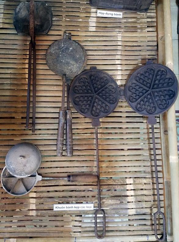 Khuôn bánh dân gian Nam bộ trở thành hiện vật bảo tàng - Ảnh 14.