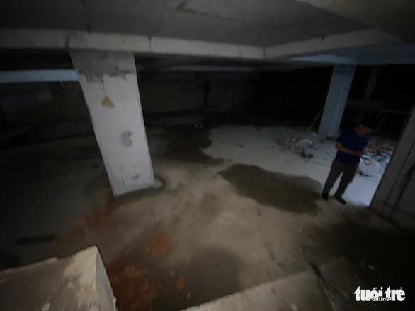 Vụ nhà phố 4 tầng hầm: đã tạm dừng công trình để kiểm tra - Ảnh 1.