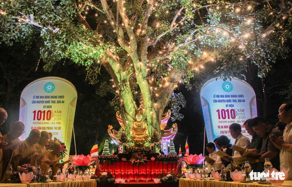 Lễ hội hoa đăng quảng chiếu đặc biệt nhất 1.000 năm qua - Ảnh 1.