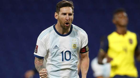 Messi ghi bàn, Argentina mở màn thuận lợi ở vòng loại World Cup 2022 - Ảnh 1.