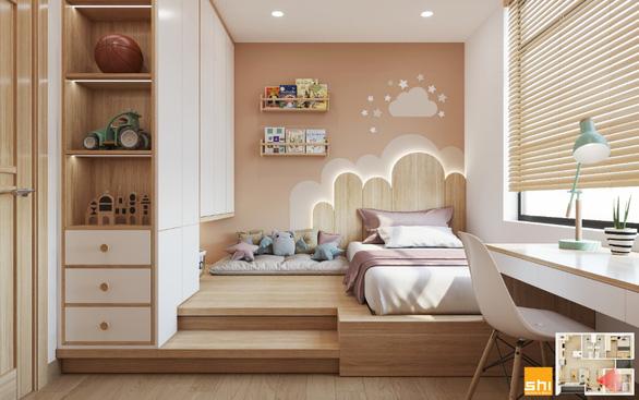 Thiết kế nội thất căn hộ phong cách Japandi - Sự kết hợp 2 châu lục - Ảnh 3.