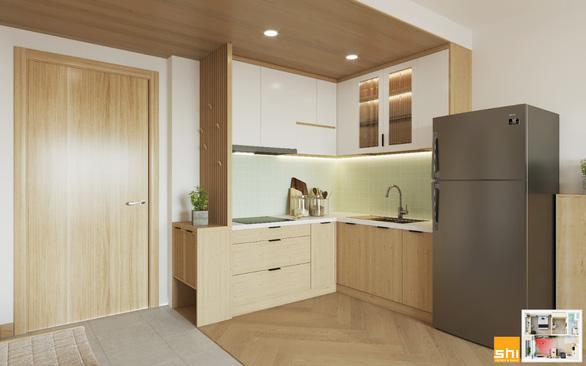 Thiết kế nội thất căn hộ phong cách Japandi - Sự kết hợp 2 châu lục - Ảnh 5.
