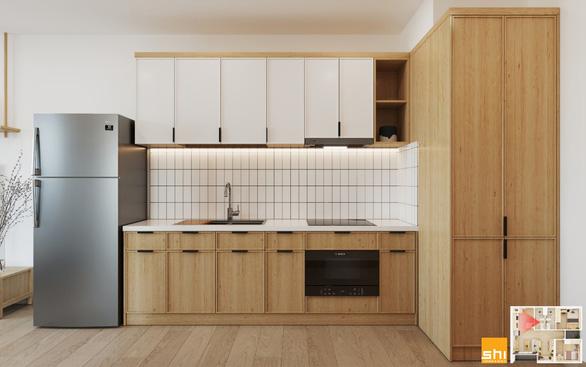 Thiết kế nội thất căn hộ phong cách Japandi - Sự kết hợp 2 châu lục - Ảnh 7.