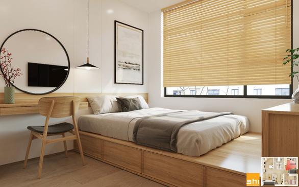Thiết kế nội thất căn hộ phong cách Japandi - Sự kết hợp 2 châu lục - Ảnh 8.
