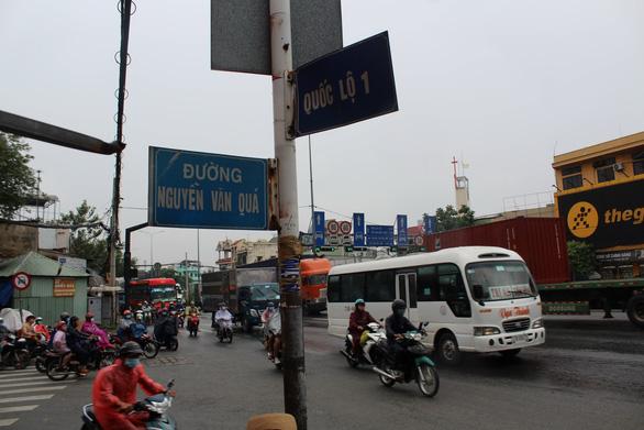 Kiến nghị xây nút giao 480 tỷ quốc lộ 1 - Nguyễn Văn Quá - Ảnh 1.