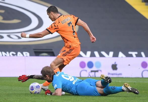 Khỏi COVID-19, Ronaldo trở lại và lập cú đúp giúp Juventus thắng trận - Ảnh 1.