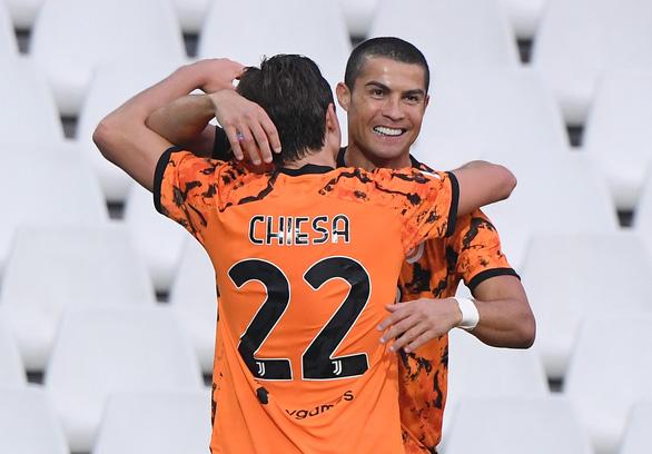 Khỏi COVID-19, Ronaldo trở lại và lập cú đúp giúp Juventus thắng trận - Ảnh 2.