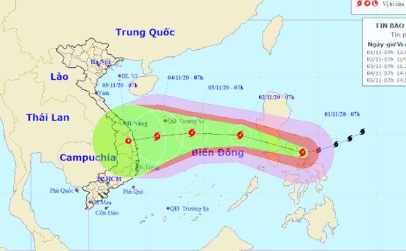Siêu bão Goni đổ bộ miền Trung Philippines, bắt đầu suy yếu - Ảnh 1.
