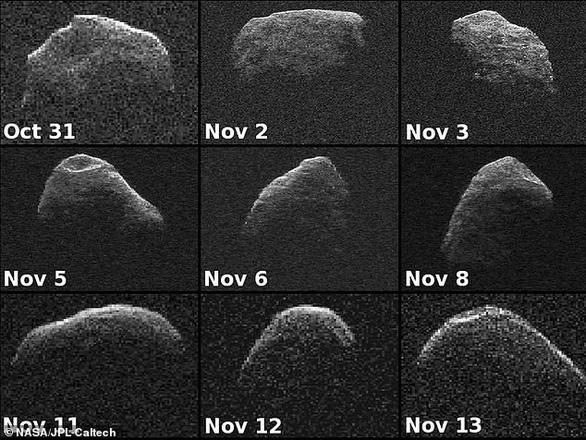 Tiểu hành tinh rắn quỷ sắp tiếp cận Trái đất - Ảnh 1.