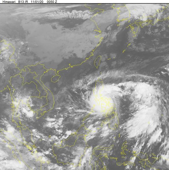 Siêu bão Goni sáng 1-11: Gió giật trên cấp 17 - Ảnh 3.