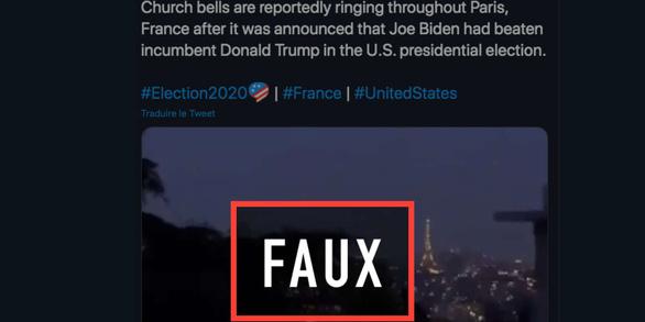 London bắn pháo hoa, tiếng chuông nhà thờ Paris vang lên mừng Biden? - Ảnh 2.