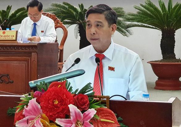 Ông Đồng Văn Thanh đắc cử chủ tịch UBND tỉnh Hậu Giang - Ảnh 1.