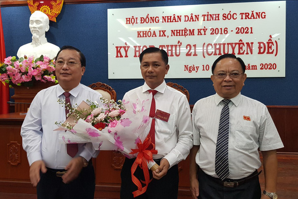 Ông Trần Văn Lâu được bầu làm chủ tịch tỉnh Sóc Trăng - Ảnh 1.