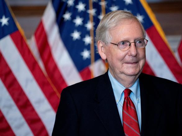 Lãnh đạo phe đa số thượng viện chưa công nhận ông Biden đắc cử tổng thống - Ảnh 1.
