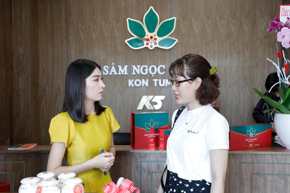 Sâm Ngọc Linh Kon Tum khai trương chi nhánh Sương Nguyệt Anh - Ảnh 1.