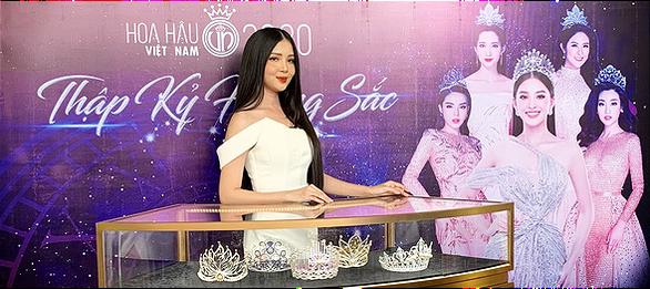Công bố vương miện Hoa hậu Việt Nam 2020 nặng 159 gram vàng - Ảnh 2.