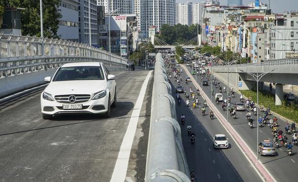 Phó giám đốc Sở GTVT Hà Nội: Tổ chức giao thông ở Ngã Tư Sở là phù hợp - Ảnh 3.