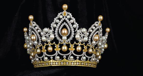 Công bố vương miện Hoa hậu Việt Nam 2020 nặng 159 gram vàng - Ảnh 1.