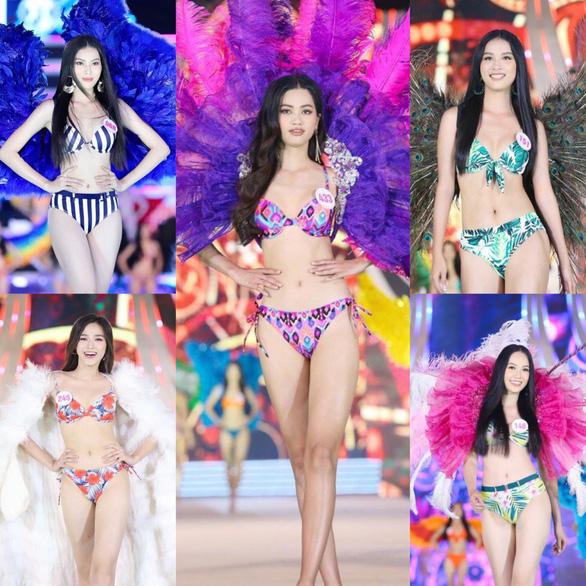 Hoa hậu Việt Nam 2020: Nóng bỏng đêm thi tìm kiếm Người đẹp biển - Ảnh 8.