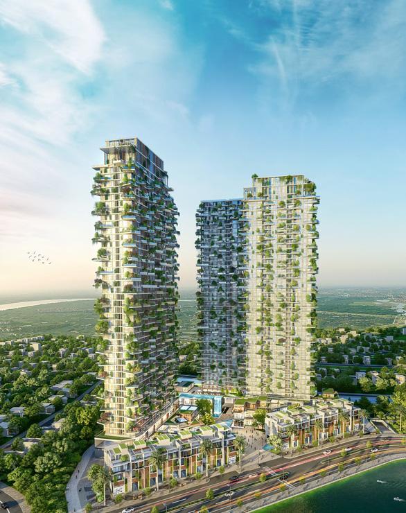 Có gì trong tòa tháp xanh ở Ecopark? - Ảnh 1.