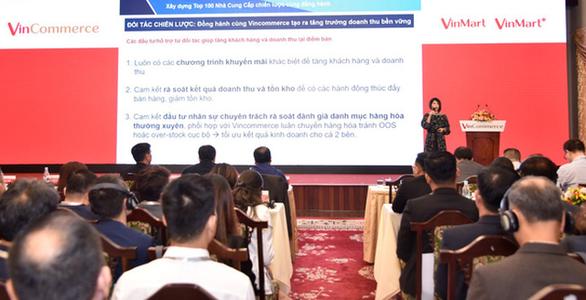 Nhiều chính sách mới tại Hội nghị Đối tác đầu tiên của VinCommerce, sau khi về tay Masan - Ảnh 2.