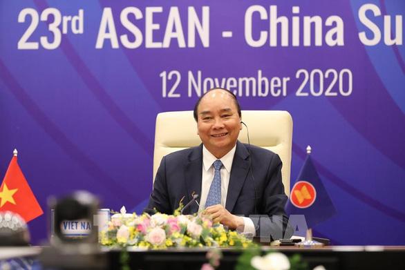 ASEAN, Trung Quốc cam kết bảo đảm duy trì chuỗi cung ứng khu vực - Ảnh 1.