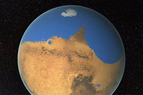 Khám phá lý giải cách sao Hỏa bị mất sạch nước - Ảnh 1.