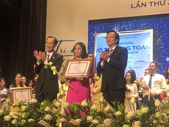 50 nhà giáo đạt giải thưởng Võ Trường Toản lần thứ 23 - Ảnh 1.