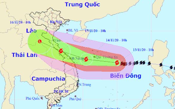 Các tỉnh miền Trung lên kế hoạch sơ tán 235.000 hộ dân tránh bão số 13 - Ảnh 3.