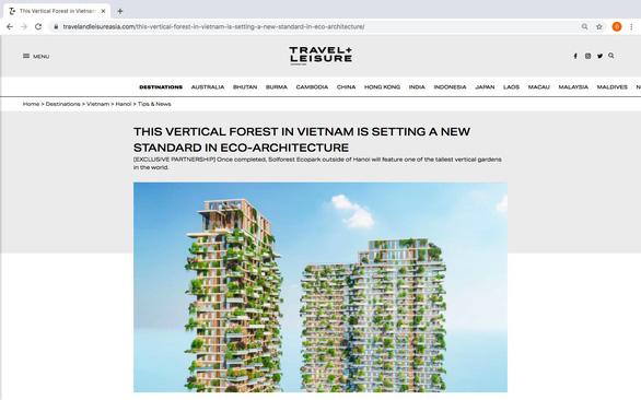 Tạp chí Mỹ viết về tòa tháp xanh cao nhất Việt Nam - Ảnh 2.