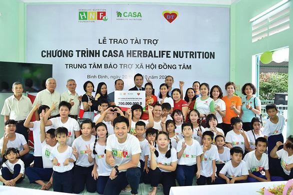 Quỹ Herbalife Nutrition Foundation (HNF) hỗ trợ dinh dưỡng cho hơn 800 em nhỏ có hoàn cảnh khó khăn. - Ảnh 5.
