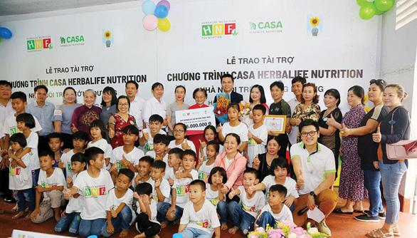 Quỹ Herbalife Nutrition Foundation (HNF) hỗ trợ dinh dưỡng cho hơn 800 em nhỏ có hoàn cảnh khó khăn. - Ảnh 6.