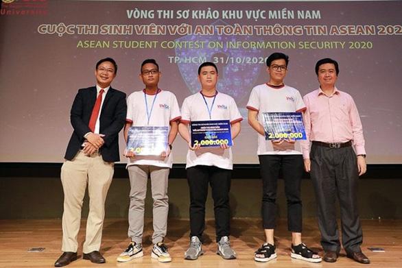 SV ĐH Duy Tân vào chung khảo 'Sinh viên với An toàn Thông tin ASEAN 2020' - Ảnh 1.