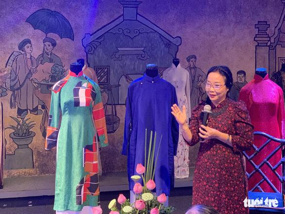 Bảo tàng Áo dài tiếp nhận áo dài các nhà giáo, nghệ nhân - Ảnh 1.