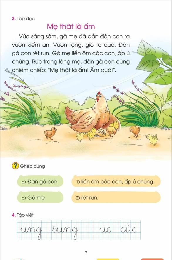 Công bố tài liệu chỉnh sửa sách giáo khoa Tiếng Việt 1 bộ Cánh Diều - Ảnh 4.