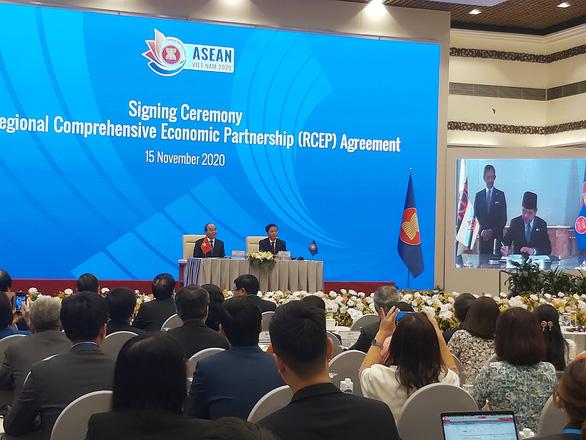 15 nước ký kết Hiệp định kinh tế quy mô lớn nhất thế giới - Ảnh 2.