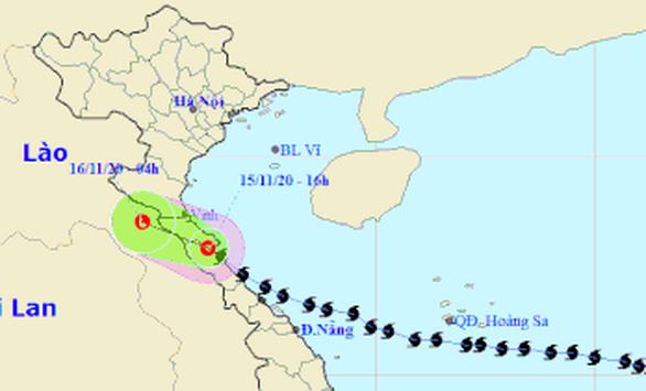 Bão số 13 suy yếu thành áp thấp nhiệt đới - Ảnh 1.