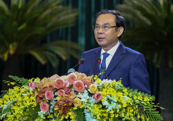 Bí thư Thành ủy TP.HCM Nguyễn Văn Nên: 'Có gần dân, sát dân thì mới thấu cảm lòng dân' - Ảnh 2.