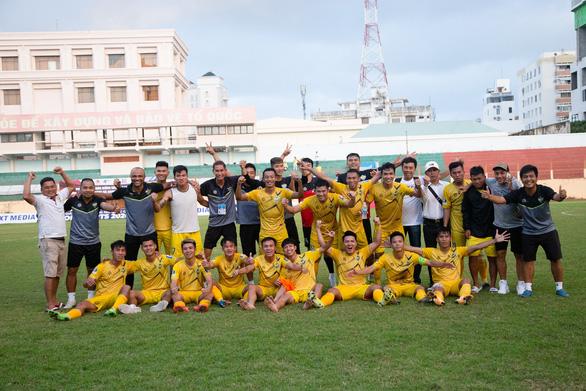 CLB Gia Định loại đội CAND có 9 cầu thủ HAGL để thăng hạng nhất 2021 - Ảnh 2.