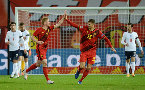 Tielemans và Mertens tỏa sáng, Bỉ khiến Anh trắng tay ở Nations League - Ảnh 1.